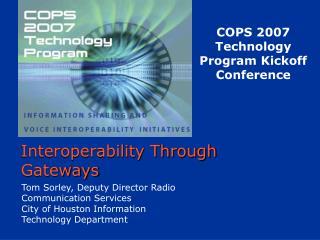 Interoperability Through Gateways