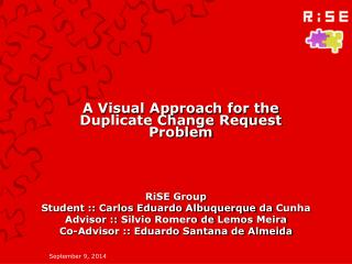 A Visual Approach for the Duplicate Change Request Problem