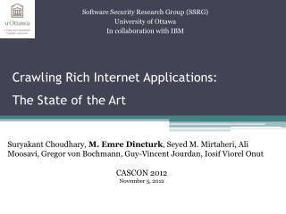 Crawling Rich Internet Applications: The State of the Art