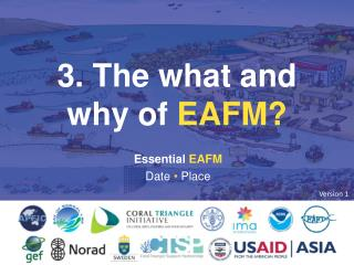 3. The what and why of  EAFM?