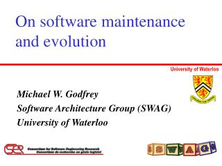 On software maintenance  and evolution