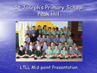 St Joseph's Primary School Peak Hill
