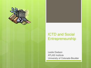 ICTD and Social Entrepreneurship