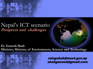 Nepal's ICT scenario