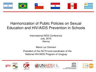 Harmonization of Public Policies on Sexual Education and HIV/AIDS Prevention in Schools