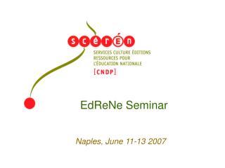 EdReNe Seminar