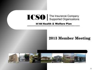 2013 Member Meeting