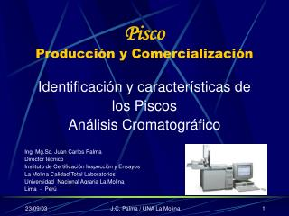 Pisco Producción y Comercialización