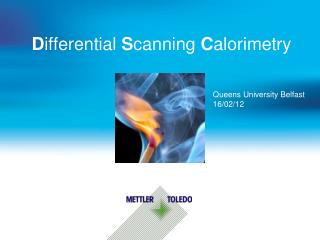 D ifferential  S canning  C alorimetry