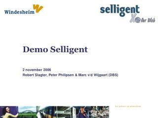 Demo Selligent