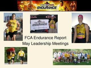 FCA Endurance Report May Leadership Meetings