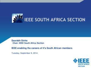 IEEE SOUTH AFRICA SECTION