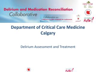 Department of Critical Care Medicine Calgary