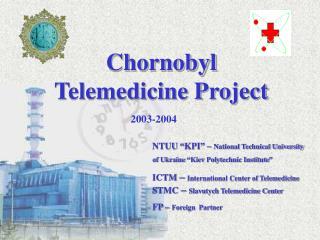 Chornobyl Telemedicine Project