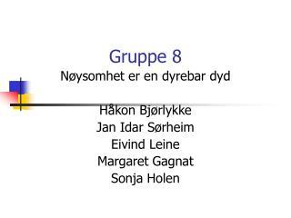 Gruppe 8