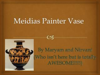 Meidias Painter Vase