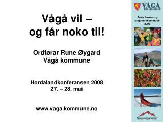 Årets barne- og  ungdomskommune  2006