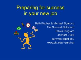 Preparing for success in your new job