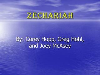 Zechariah