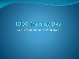 IDDT Training Day