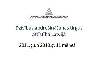 Dzivibas apdro ina anas tirgus attistiba Latvija
