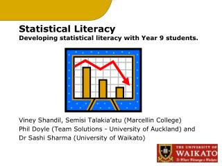 Statistical Literacy Developing statistical literacy with Year 9 students.