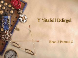 Y 'Stafell Ddirgel