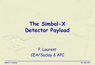 The Simbol-X  Detector Payload