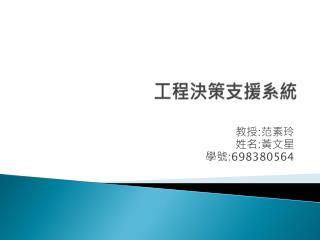 工程決策支援系統