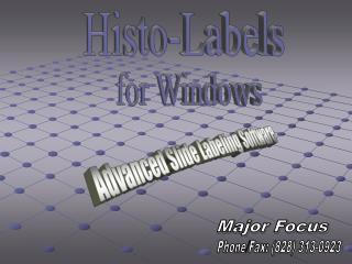Advanced Slide Labeling Software