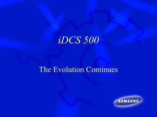 iDCS 500