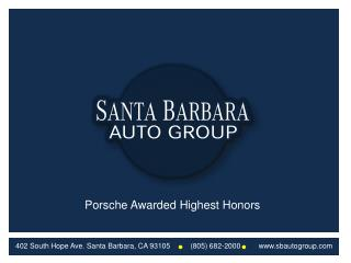 Porsche Awarded Highest Honors