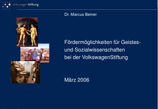 Dr. Marcus Beiner