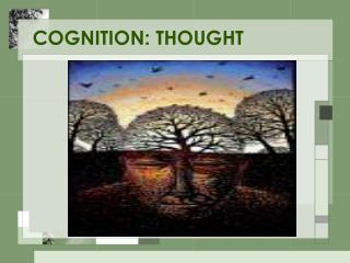 COGNITION: THOUGHT
