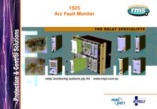 1S25 Arc Fault Monitor