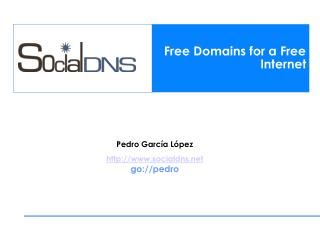 Free Domains for a Free Internet
