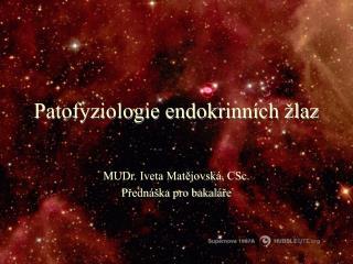 Patofyziologie endokrinn ch  laz