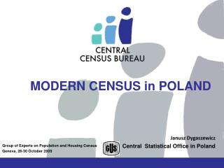 MODERN CENSUS in POLAND