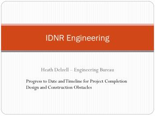 IDNR Engineering