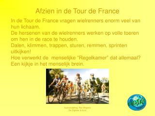 Afzien in de Tour de France