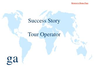 Success Story  Tour Operator
