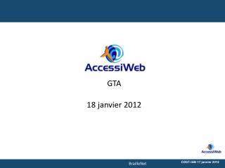 GTA 18 janvier 2012