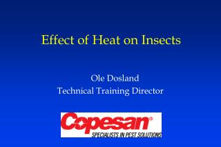 Effect of Heat on Insects