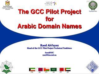 The GCC Pilot Project for  Arabic Domain Names