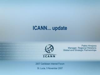 ICANN... update