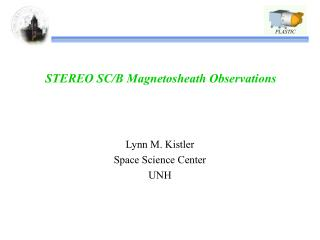 STEREO SC/B Magnetosheath Observations