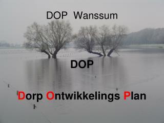 DOP  Wanssum