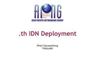 .th IDN Deployment