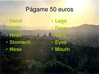 Págame 50 euros