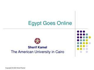 Egypt Goes Online